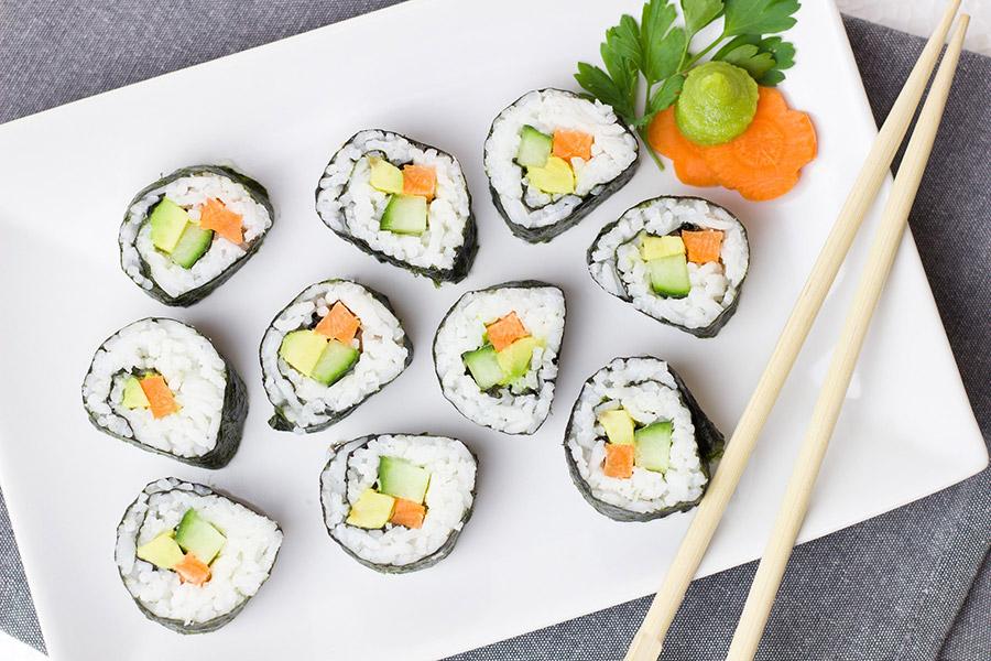 Sushi bei EDEKA Grünbauer in Weiden