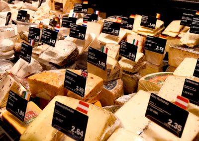 Käse aus der Frischetheke