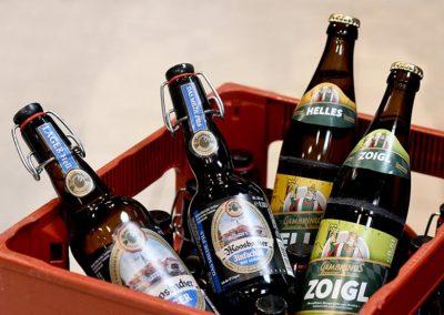 Moosbacher und Bambrinus Bier