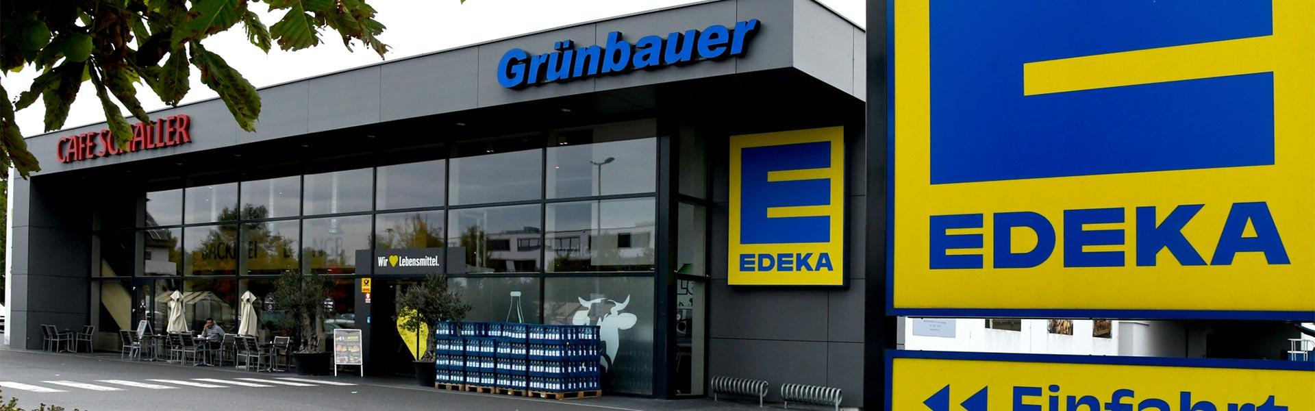 Supermarkt EDEKA Grünbauer in Weiden