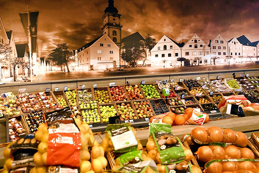 Obst und Gemüse bei EDEKA Grünbauer