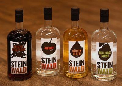 Schnaps und Likor von Steinwald